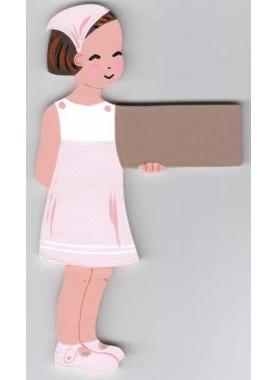 Choupette en robe trapèze
