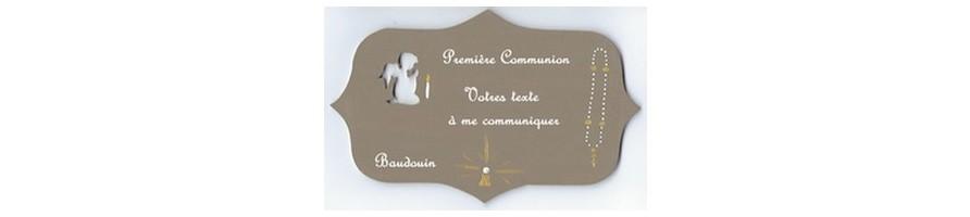 Communion, Baptême